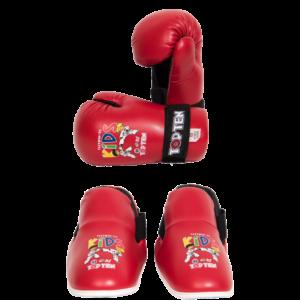 Handschoenen en voetbeschermers ITF Cool Kids