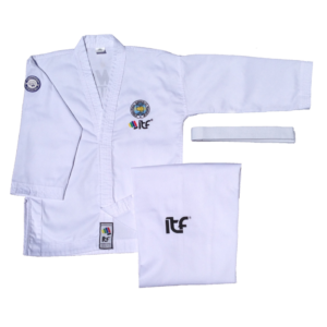 Mighty Fist dobok MoDit heel Taekwon-Do pak