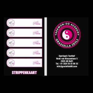 Strippenkaart 10 lessen Taekwon-Do Academy Graziella Idili