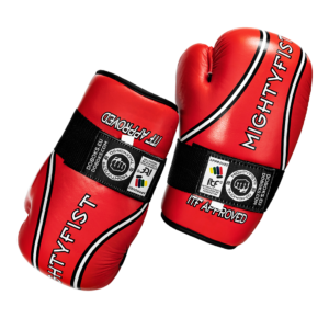 Handschoenen Mighty Fist Taekwon-Do Rood ITF goedgekeurd